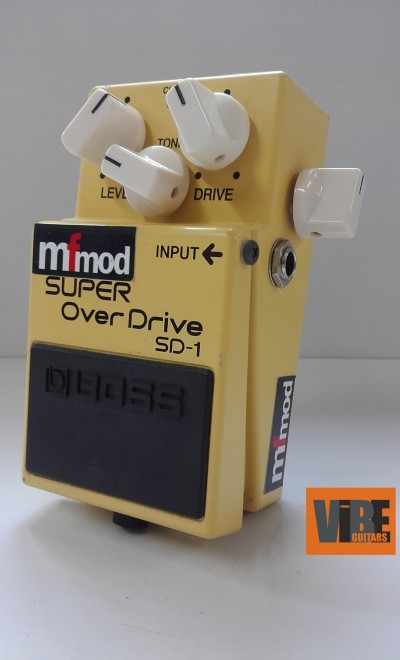 Boss Super Overdrive SD-1 MFMod Clarity Mod