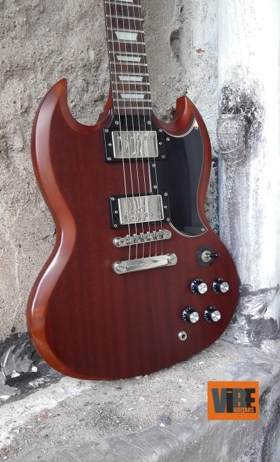 Epiphone SG G400 Faded Worn Brown